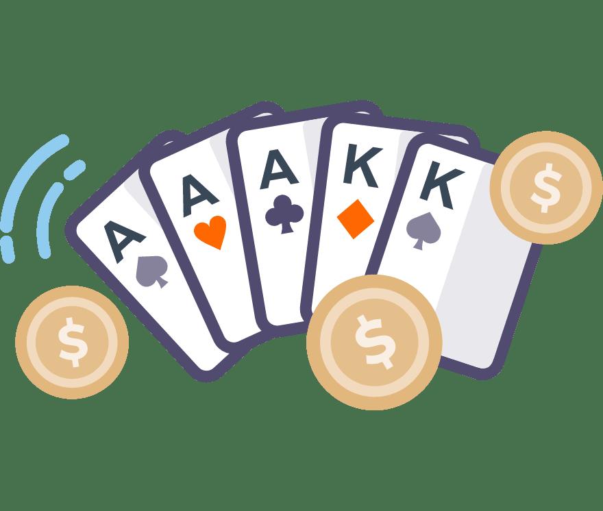 80 โป๊กเกอร์ New Casino ที่ดีที่สุดในปี 2021
